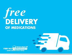 Free Delivery of Prescriptions at Perris Hills Pharmacy
